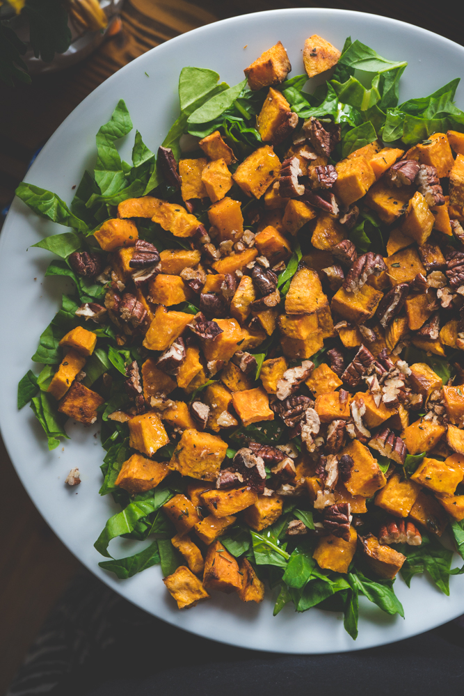 roasted sweet potato salad 2