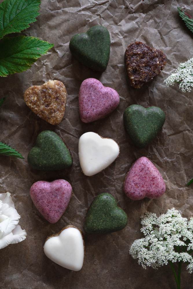 coconut butter hearts
