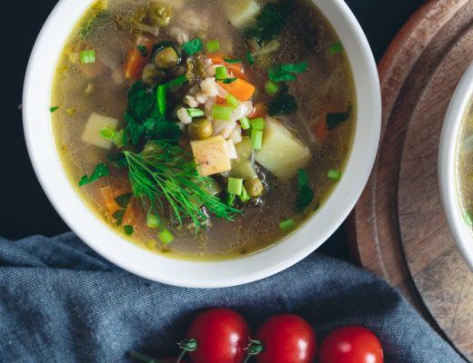 barley minestrone soup